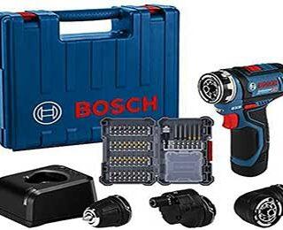 taladro atornillador marca Bosch 12 voltios