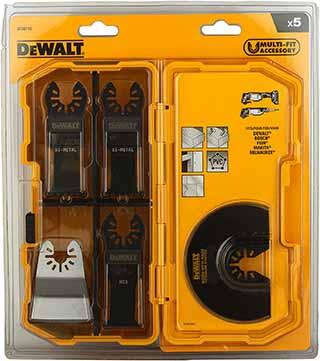 discos y cuchillas de una oscilatorias marca dewalt